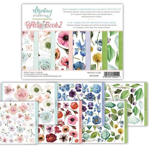 Mintay Flora Book 2 15,2 x 20,3