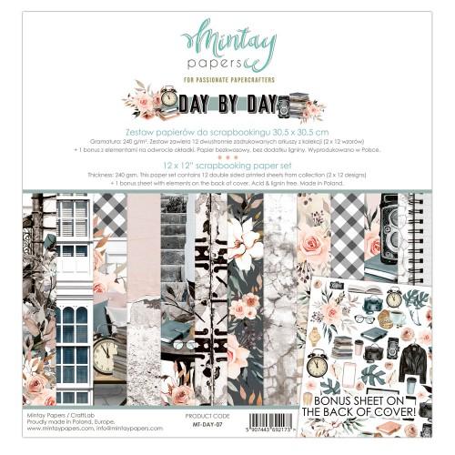 Zestaw papierów Mintay Day by Day