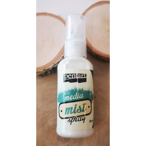 Mgiełka spray 50ml Pentar perłowy biały