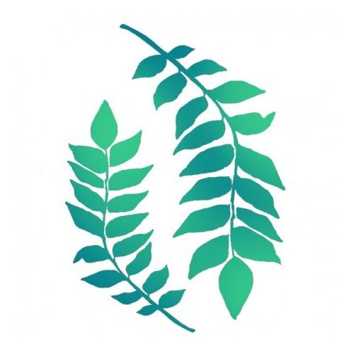 Szablon maska Stamperia gałązki i liście