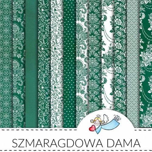 Galeria papieru Szmaragdowa dama zestaw