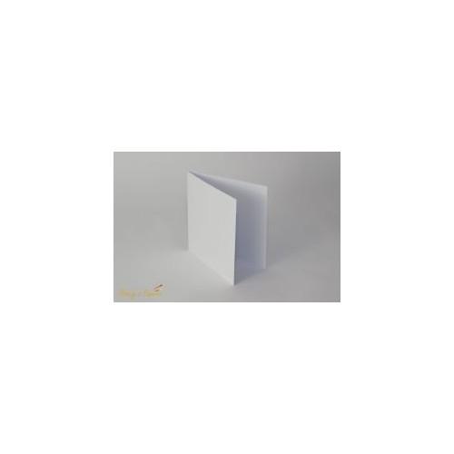 Baza na kartkę 14x14 biała