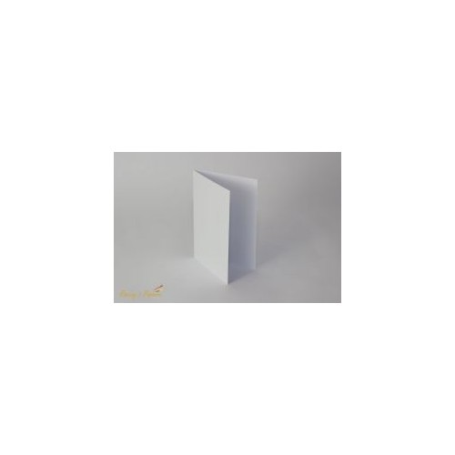 Baza na kartkę C6 pozioma biała